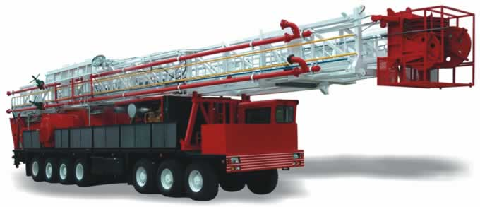 truck-mounted-drilling-rig